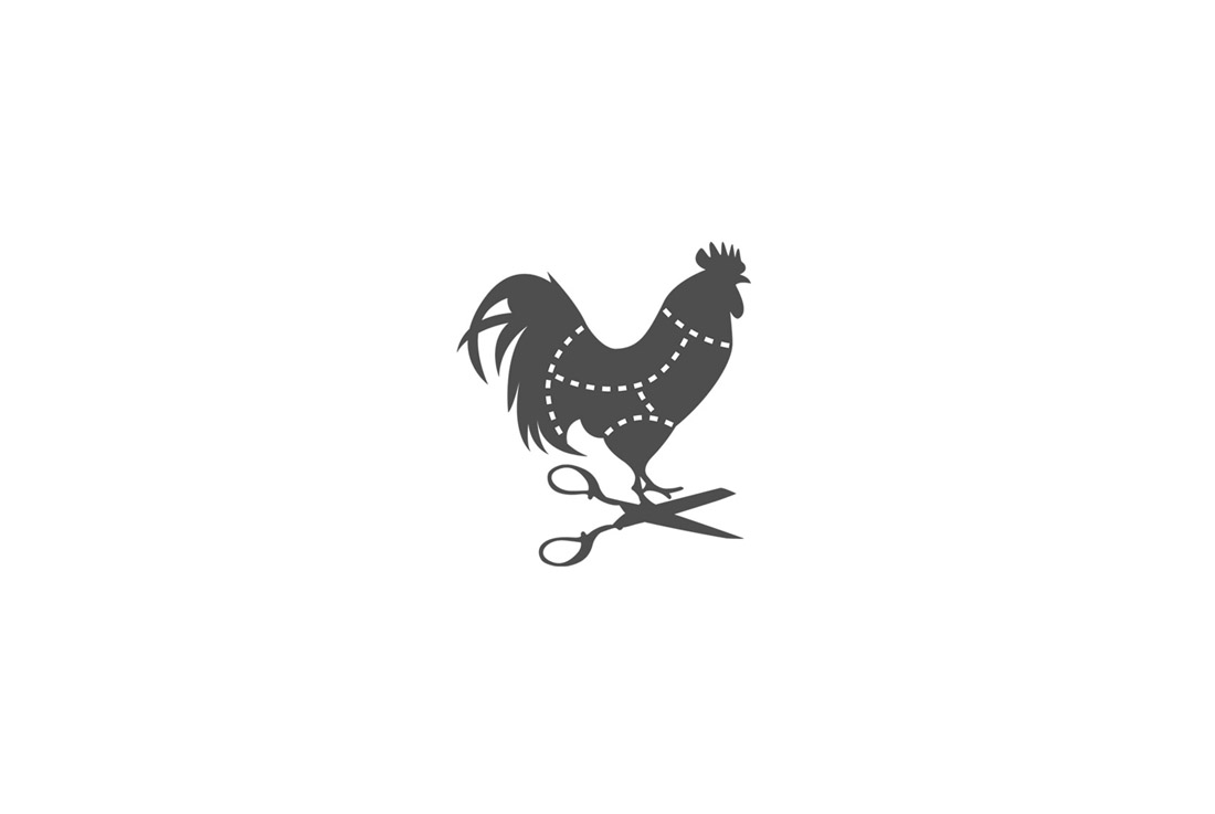 icon logo with poultry