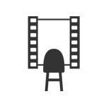 film strip mirror logo thumbnail