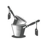 retro woodcut pan design thumbnail
