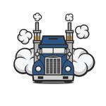 truck vaping logo thumbnail