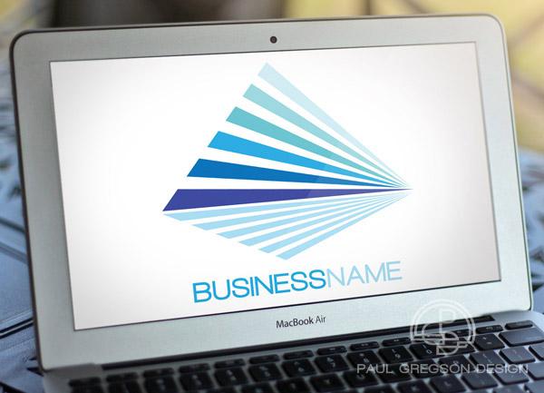 logo on computer screen