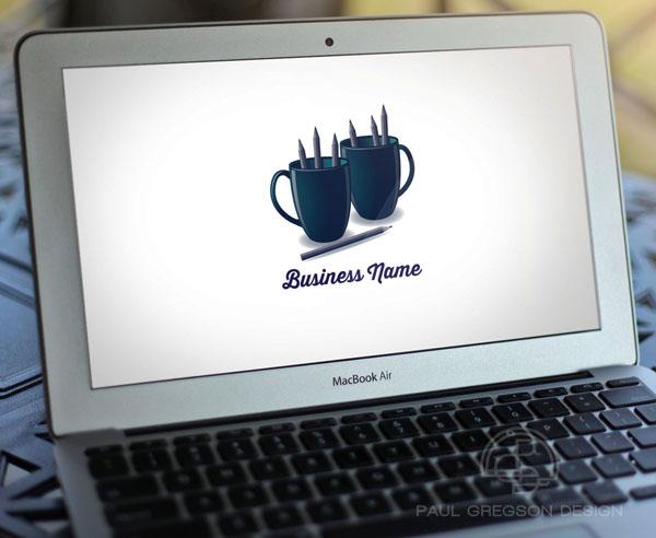 art break logo on computer screen