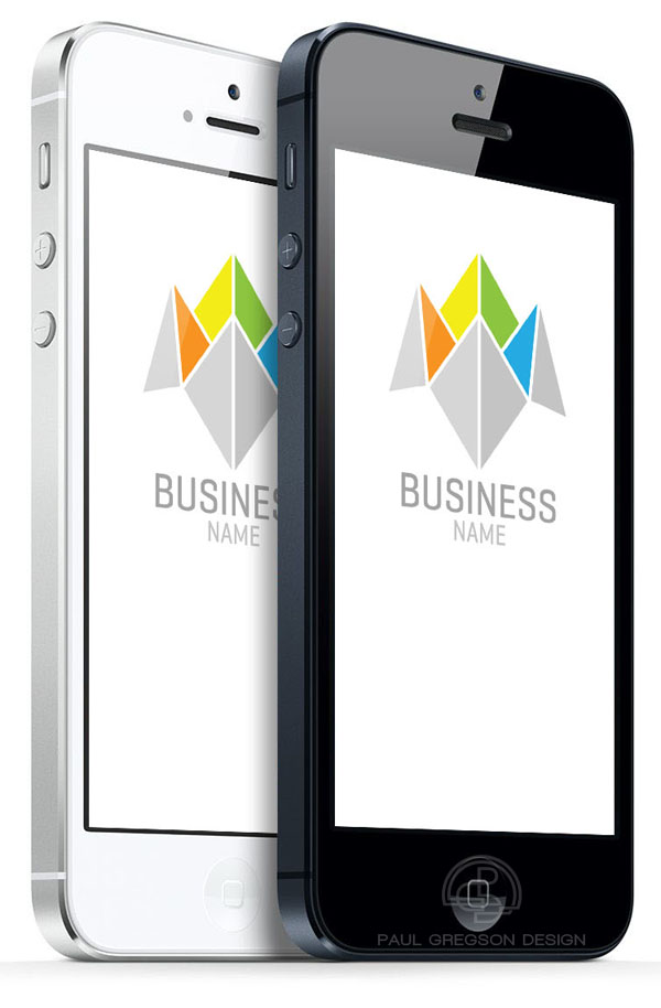 business choice logo on mobile cell phones