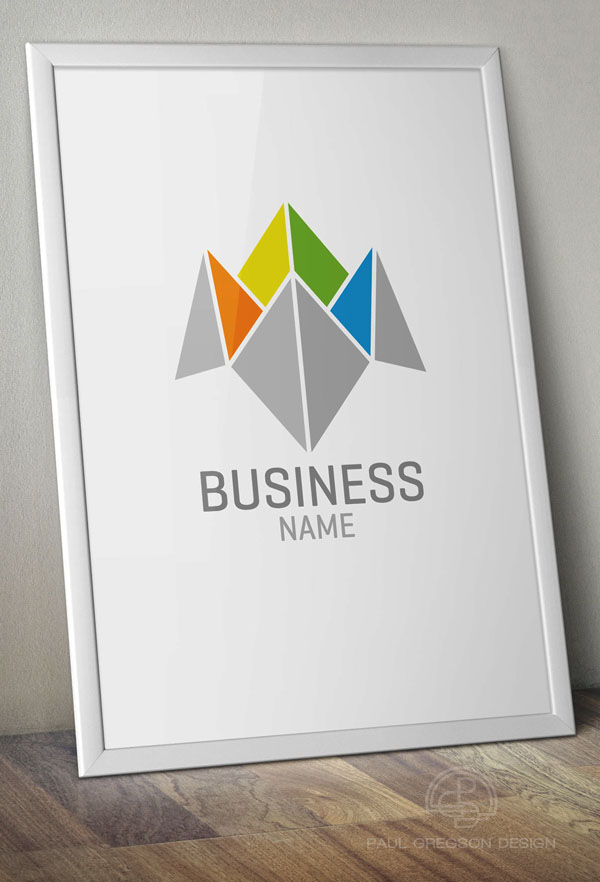 business choice icon on poster