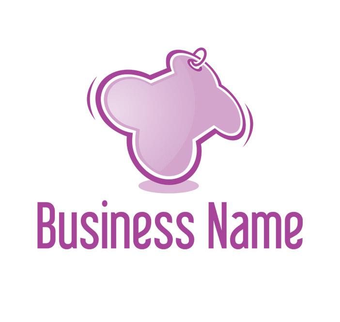 dog bone symbol logo header