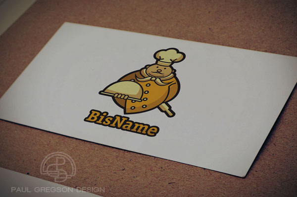 gold chef icon on card