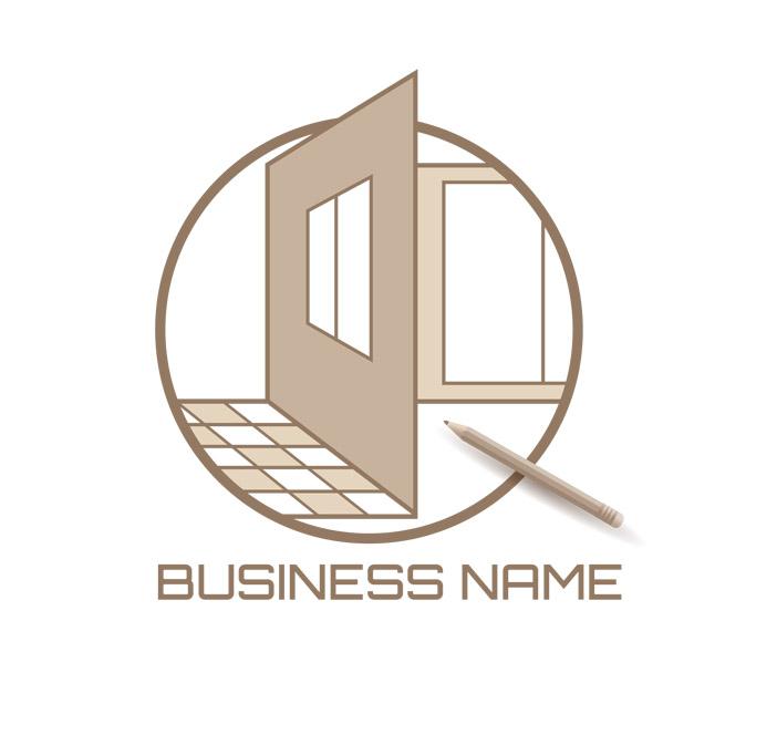 home design emblem logo featured