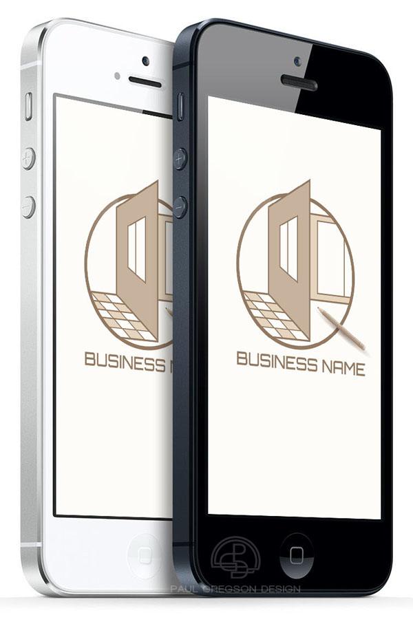 home design emblem on mobile cell phones