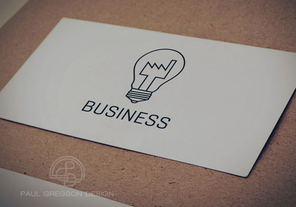 factory bulb symbol on card