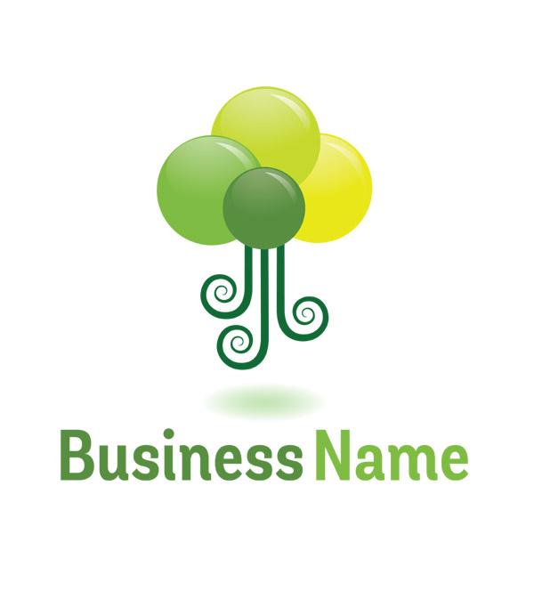 landscape symbol logo header