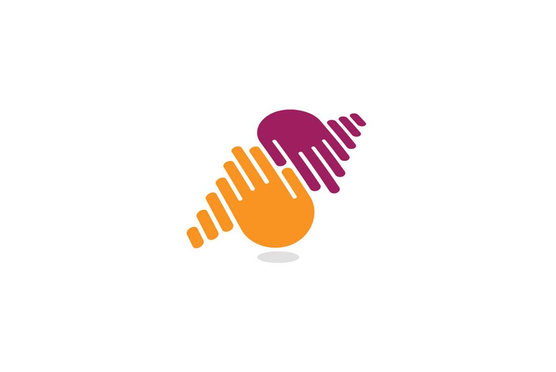 music sharing icon logo