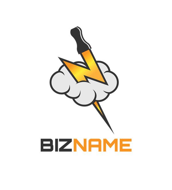 vaping symbol logo header